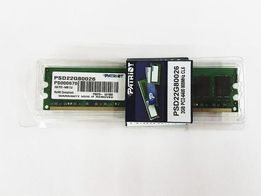 Новая! Память Patriot DDR2 2GB PC2 6400MHz Intel/AMD