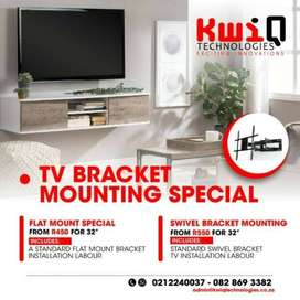 TV mounting services