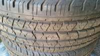 Image of R16 continental cross contact tyres for sale. Brand new tyres.