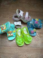 Босоножки-сандалики-мыльницы резиновые силикон