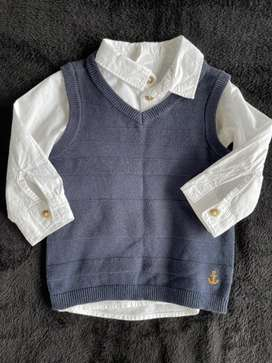 Trendy H&M shirt with matching pullover