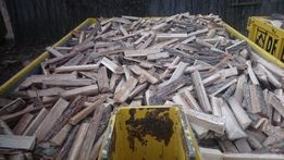 Drewno opałowe kominkowe dębowe krawędziaki