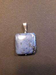 Zawieszka lapis lazuli lazuryt piękny