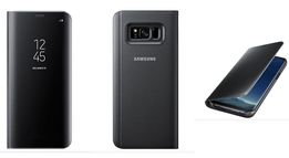 Чехол Samsung Clear View Standing Cover Galaxy S8 / S8+EF-ZG955 +ЧИП