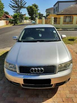 AUDI A4 3L V6 PETROL, MANUAL, NEEDS ATTENTION, VEHICLE DRIVES, AS IS