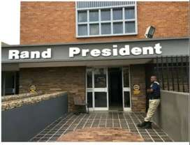 2 Bedrooms to let @ Rand President Apartments