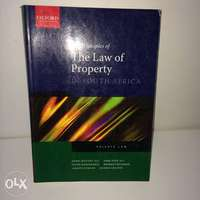 Image of The Principles of The Law of Property in South Africa Mostert & Pope