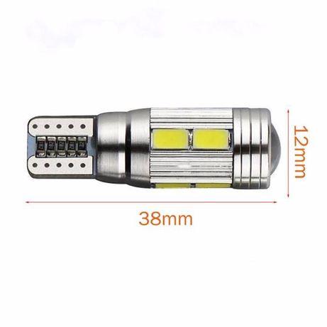 Габаритные огни T10 LED лампа линза светодиодная Дневные ходовые огни Кривой Рог - изображение 4