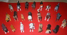 Kolekcja psy figurka i gazetka 16 sztuk
