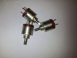 Резисторы переменные СП5-35Б 1кОм, 10кОм и СП5-35А 22кОм
