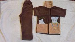 Теплый костюм на 3-4 года