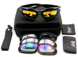 Тактические очки Daisy C5 4 стекла (Дейзи). Страйкбол, лыжные, вело