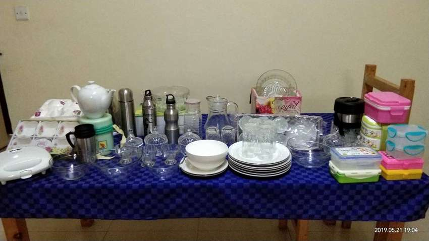 Crockery + Kitchen and Dining Items 0