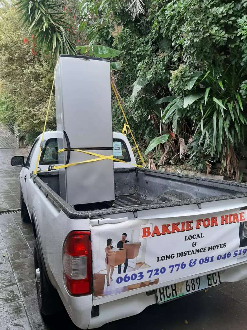 Bakkie for hire from R150 0