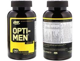 Мультивитамины Opti-Men, 240 таблеток (Optimum Nutrition)