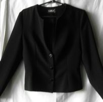 Чёрный школьный пиджак на девочку