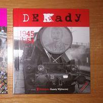 Książka książki Dekady 1945 do 1954 i 1995 do 2005, NOWE !!!