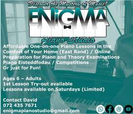 Piano and Music Theory Lessons East Rand