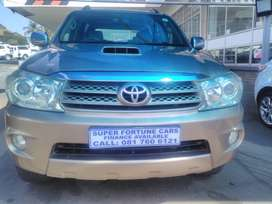 Toyota Fortuner 3.0d4d 4x4 Manual