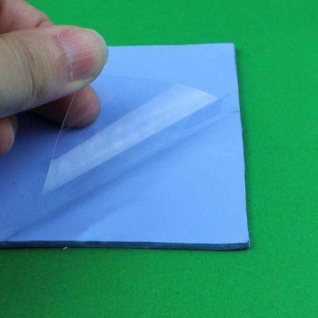 Термопрокладка синяя от 0.5 до 3.5мм термоинтерфейс термопаста Черкассы - изображение 2