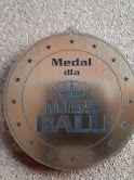 Medal dla Miss i Mistera Balu 2 szt