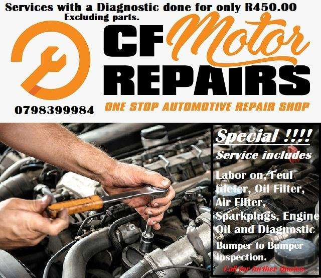 Service with a Diagnostic 0