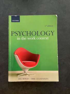 Psychology inthe work context