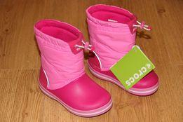 Сапоги crocs crocband lodgepoint boot крокс c8, c10, с11, с12, j1, j3