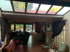 Entertainers dream, build in braai , open plan, boma and pool