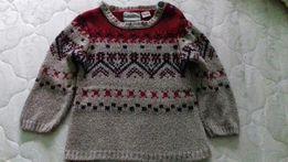 Шерстяной свитер Zara на 1.5-2 года