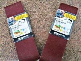 Sand Paper 75 x 533mm belt - 40 grits 3 in packet