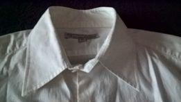 Biała koszula dla nastolatka, slimowana (rozm. M)