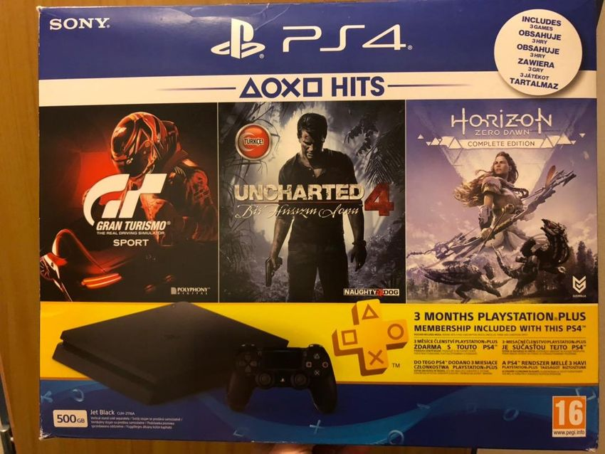 Playstation 4 - slim 500gb +7 her 0