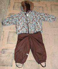 б\у р. 98 зимний комбинезон Lenne комплект ленне ( куртка + штаны )