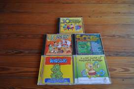 Kiddies Sing Along Cds –R100