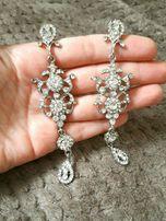 Сережки, браслет и брошка на свадьбу, выпускной