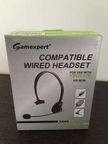 Słuchawki z mikrofonem Gamexpert do XBOX 360