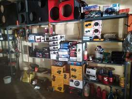 Car audio sales and professional installation