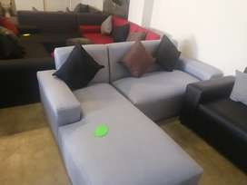 Brand new L shape couches for sale right at the factory for R2499