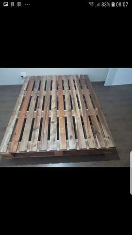 Double bed base .. fully wood