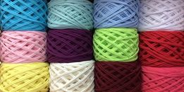 Трикотажная ПРЯЖА - Ленточная пряжа для вязания