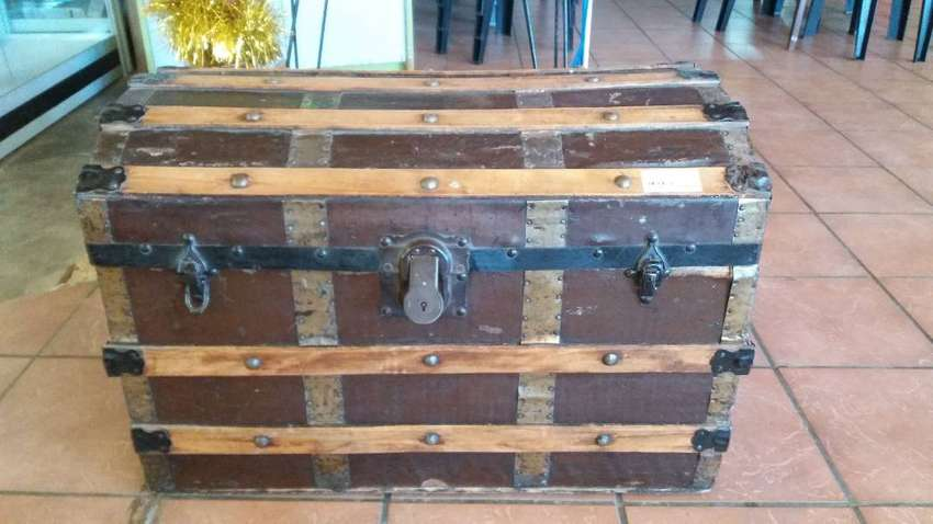 Antique wooden chest for sale 0
