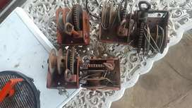 Assorted hand winches