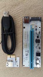 Райзер Riser V008S Sata Molex 6pin