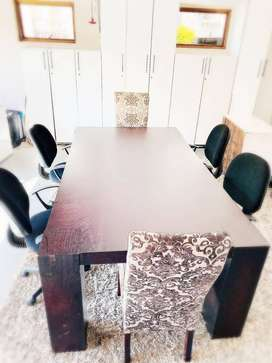 Board Room Table inclusive of Chairs