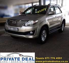 2013 Toyota Fortuner 2.5D 7 Seater