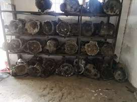 Gearboxes for cars