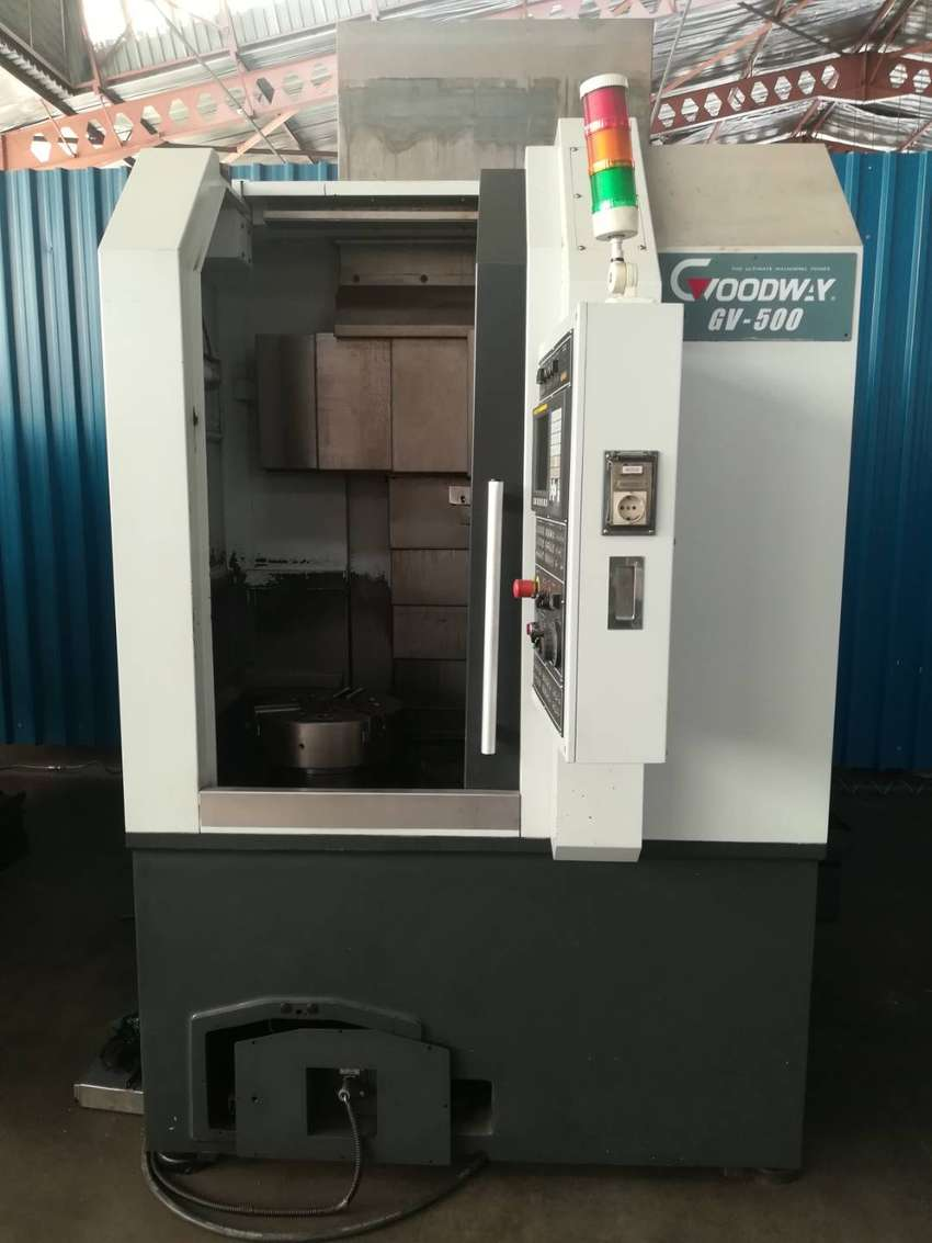 Goodway GV 500 CNC vertical lathe for sale 0