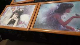 Framed puzzles