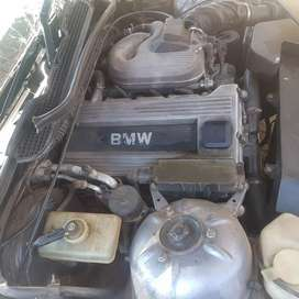 Selling my BMW 318is for stripping was involved in an accident.